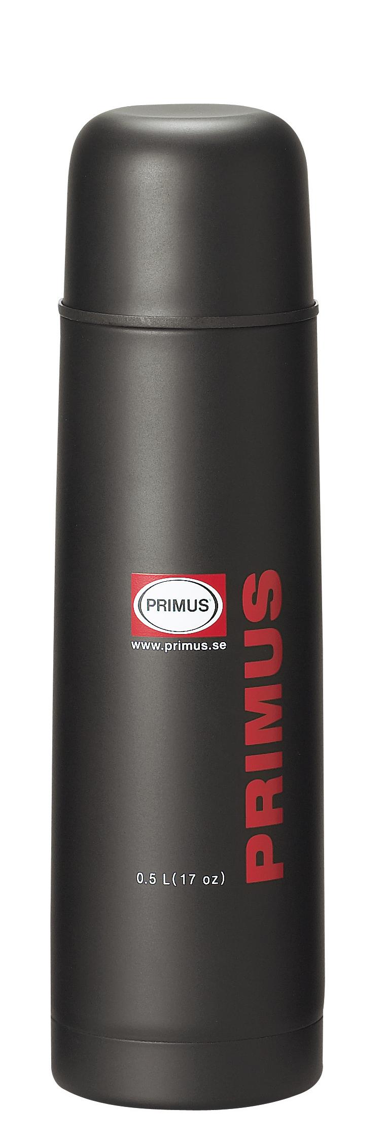 Primus Isolierflasche 0,5 L Thermoskanne schwarz