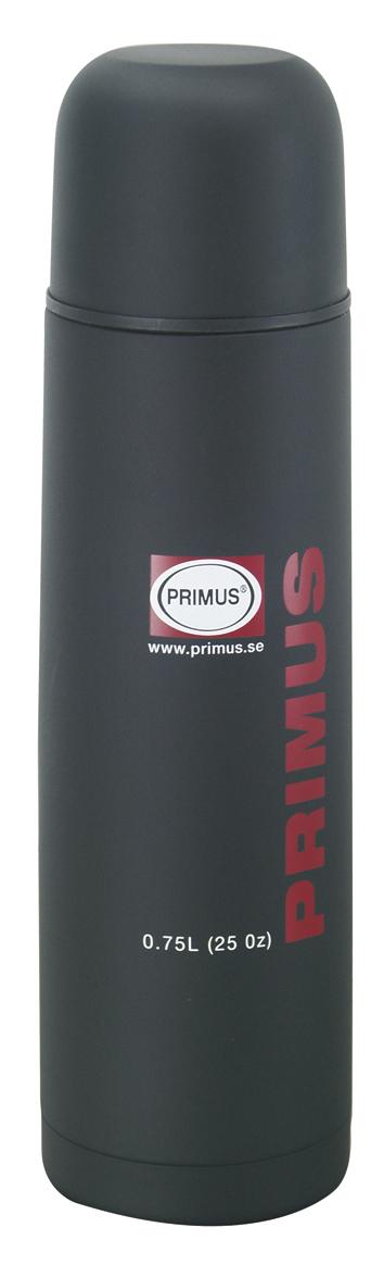 Primus Isolierflasche 0,75 L Thermoskanne schwarz