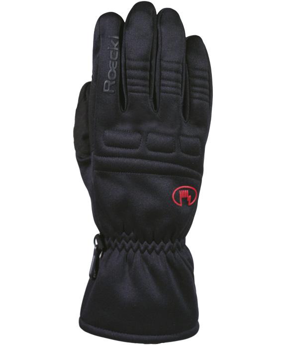 Roeckl Keira Multisport Outdoor Softshell Handschuh schwarz