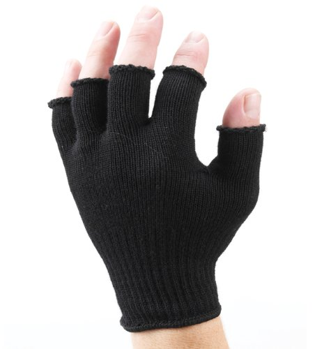 Gloves With Fingertips Out: SealSkinz Fingerless Gloves Thin Glove Made Out Of Merino