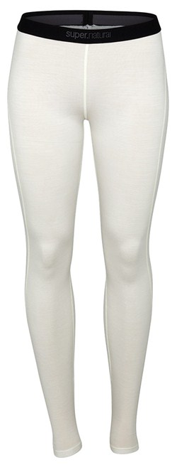 Super Natural Wo Base Tight Damen Funktionsunterwäsche Hose creme