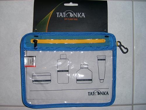 Tatonka Zip Flight Bag transparente Tasche Handgepäck