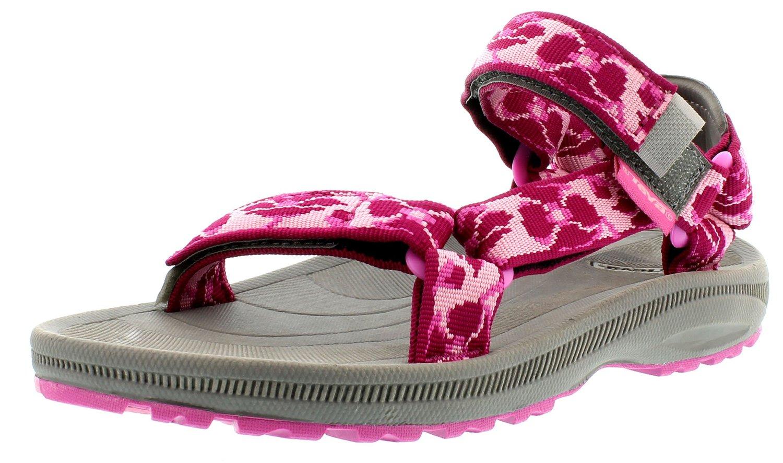 Teva Hurricane II poppies berry Kindersandale Kinder Sandale pink