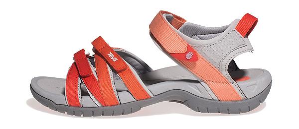 Teva Tirra coral gradient Damen Outdoor Sandale gut gedämpft