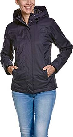 Tatonka Leesa W` Jacket black Damen Funktionsjacke Regenjacke wasserdicht