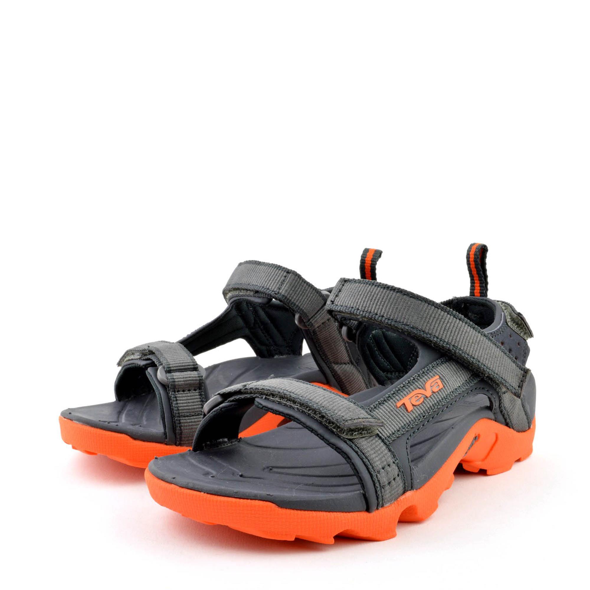 teva tanza kindersandale outdoor sandale grey orange ebay. Black Bedroom Furniture Sets. Home Design Ideas