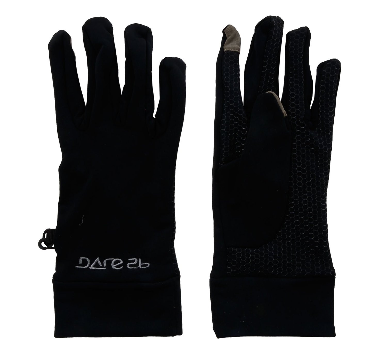 Dare2b Smart Gloves winddichte Stretch Handschuhe schwarz