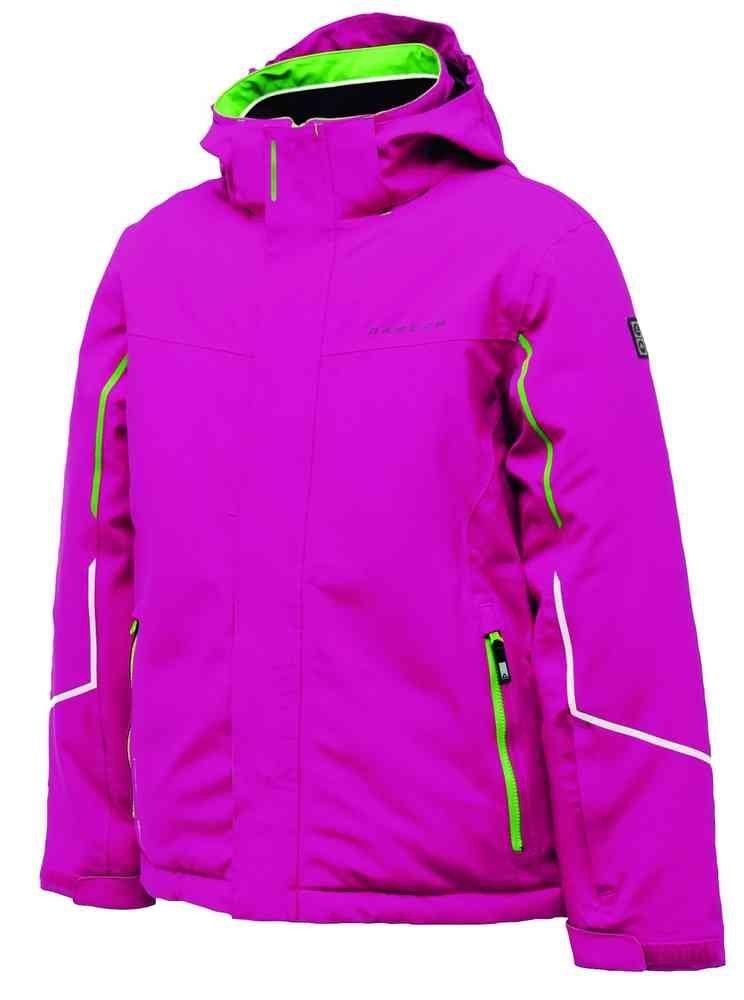 Dare2b Rumble Jacket fuchsia Kinder Skijacke Winterjacke mit Schneefang