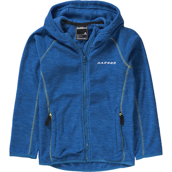 dare2b Entreat Fleece oxford blue Kinder Fleecejacke mit Kapuze blau