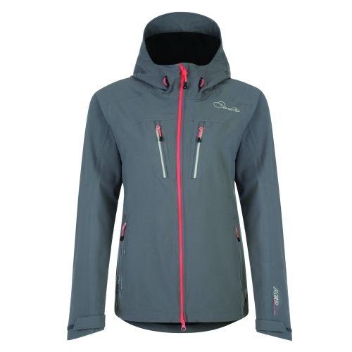 Dare2b Seldom Jacket  aluminium grey Damen Funktionsjacke Regenjacke grau