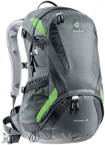 Deuter Futura 28 Wanderrucksack Daypack 28l schwarz und blau