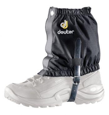 Deuter Gamaschen Boulder Gaiter short black