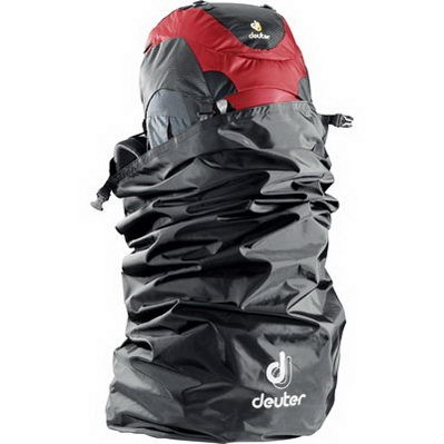 Deuter Flight Cover Transporthülle Flugschutz black
