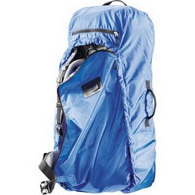 Deuter Transport Cover blau Transporthülle Rucksackschutz Regenschutz