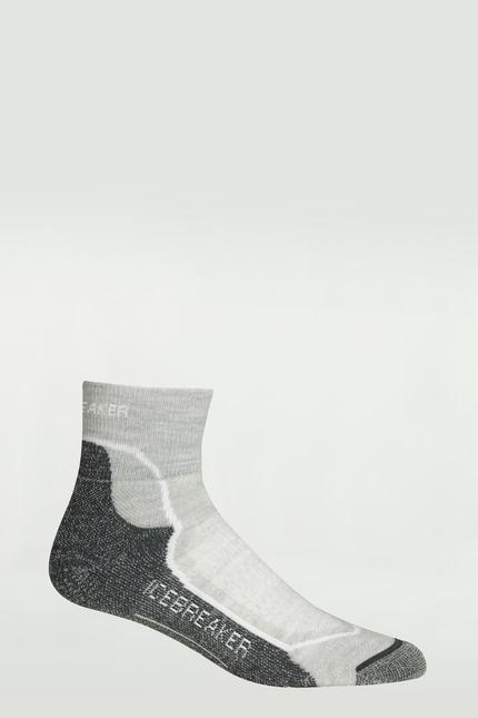 Icebreaker Wmns Hike+Lite Mini Damen Funktions Socken Merino grau
